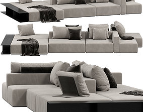 Poliform WESTSIDE DIVANO sofa 3D