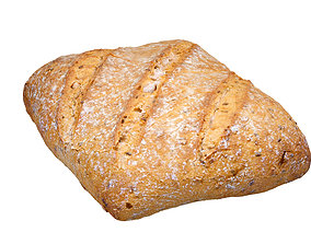 Photorealistic Bread 3D Scan low-poly