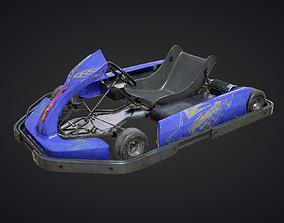 3D asset Gokart