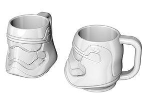 3D printable model disney Mug Stormtrooper Star Wars