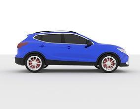 Nissan Qashqai 2013-2018 3D Printable Model
