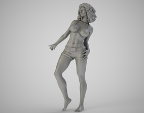 Dancing on the Beach 3D print model