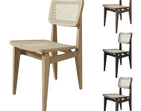 Gubi C Chair UnUpholstered 3D model