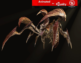 3D model dreadful beetle