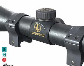 3D asset Leupold Rifleman Scope