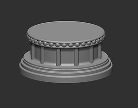 3D printable model Decorative Base Stand for statues and