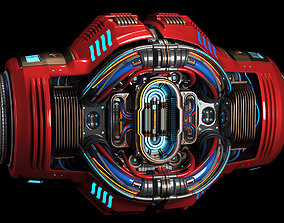 Sci Fi CORE C1 KITBASH ELEMENT 3D model
