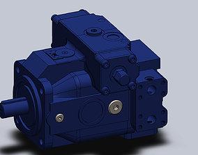 3D model Pump A4VSG 40 Bosch Rexroth