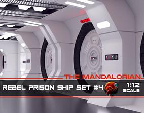 3D print model The Mandalorian - Rebel Prison Ship 4 - 4