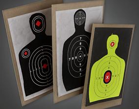 Firing Range Targets - FR - PBR Game 3D asset