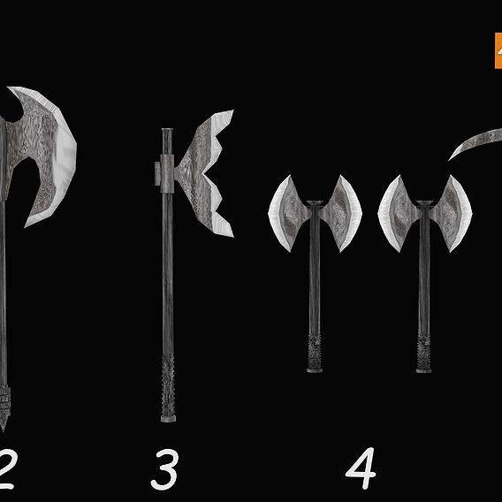 Axe Weapon Pack