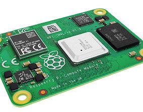 3D model Raspberry pi cm4