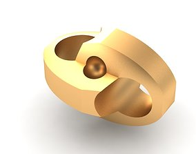 3D print model Eslabon para cadenas chain link E2016-64