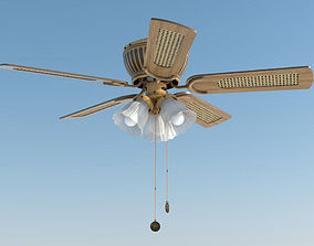 ceiling fan westinghouse 3D model