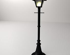 Light Post 3D