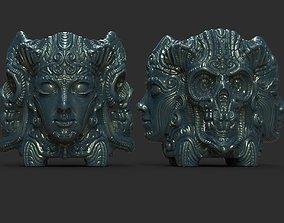 stylized mug 3D printable model