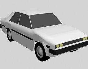 3D model Low Poly Rigged Vehicles