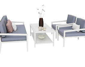 3D Outdoor furnitures 06