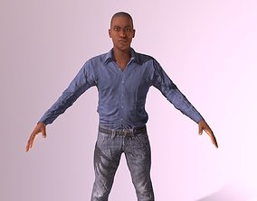 3D asset Generic Male Human