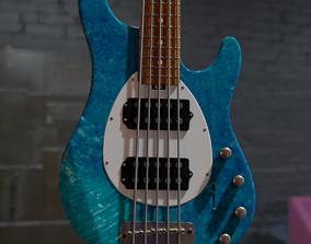 Bass Guitar 3D PBR