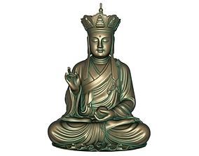 Buddha 3D print model 3D asset
