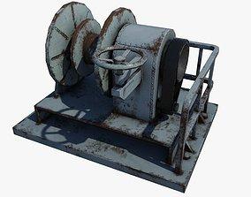 3D model Winch Machine
