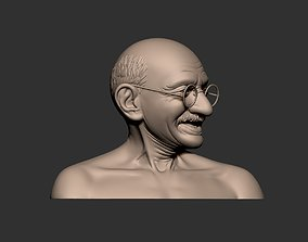 Gandhi Bust2 3D printable model