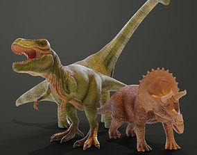 Dinosaurs toys 3D