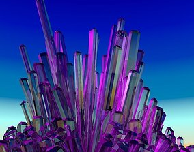 Cristals 3D model