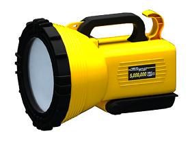 spotlight Rechargeable Industrial Torch Light 3D model