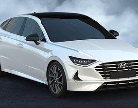 2020 Hyundai Sonata 3D