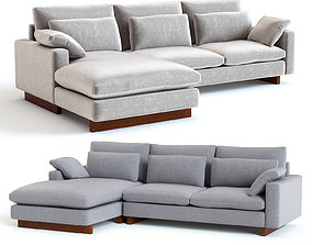 West Elm Harmony Sectional 3D model
