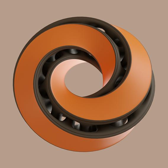 Interlocked Mobius Strip