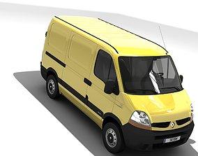 Renault Master L1H1 2006 3D asset