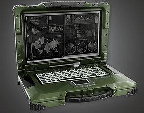 MLT - Military Field Computer - PBR Game Ready 3D asset