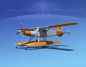 DeHavilland DHC-2 Turbo Beaver V04 3D model