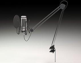 Microphone modurn 3D