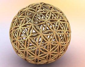 Flower of Life 18mm sphere 3D print model