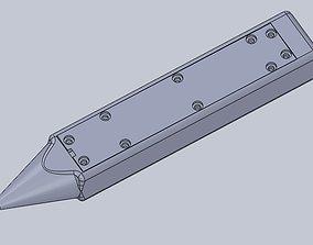 Pencil voltmeter 3D printable model
