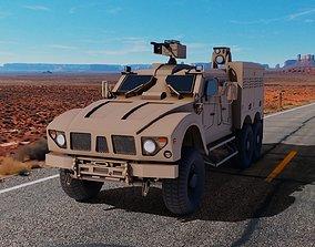 3D model Oshkosh M-ATV 6x6