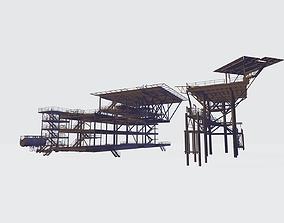 Platform pack 3d model