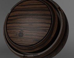 3D Free Seamless PBR Wood - Dark 002