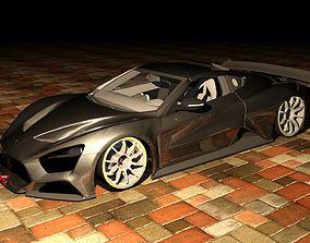 Zenvo Track Tuned 3D model