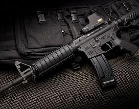 M4a1 rifle 3D asset