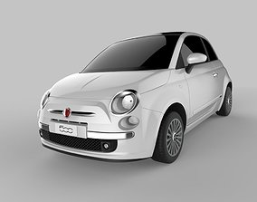 3D model Fiat 500 2007 Autodesk Alias