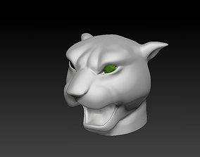 Panther Head printable