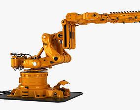 3D Robot Arm Rigged