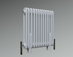 3D asset Classic Vintage Radiator Home Appliance