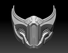 3D print model Sub Zero mask for cosplay Mortal Kombat 1