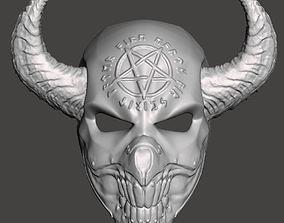 3D print model Demon mask